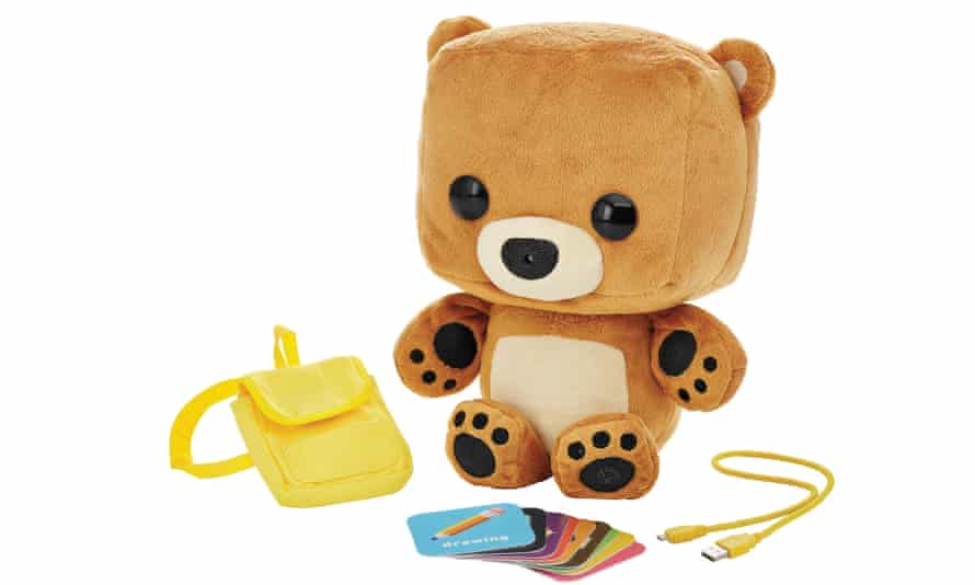 Put the bear back in the box ... Mattel's Smart Toy Bear.