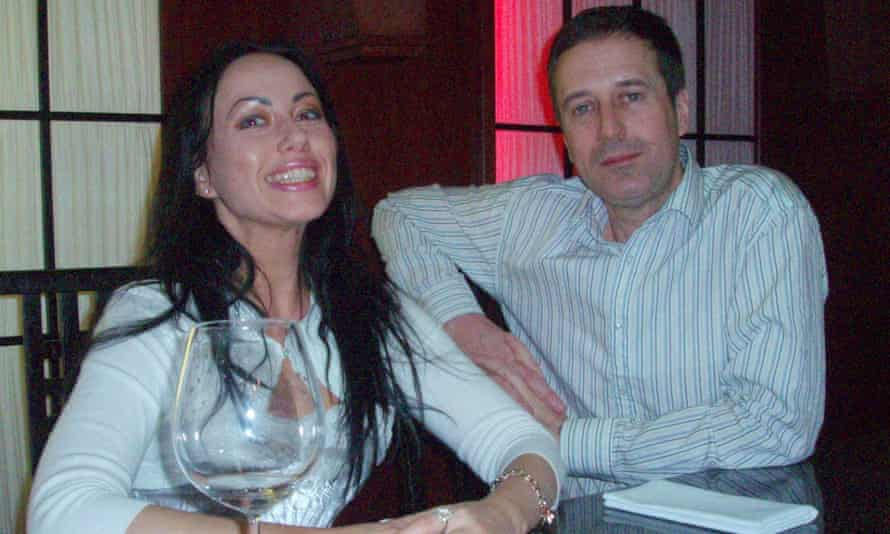 Ganna Ziuzina with Barry Pring.