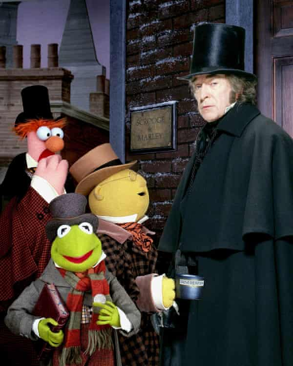 Beaker, Kermit, Dr Bunsen Honeydew and Michael Caine.