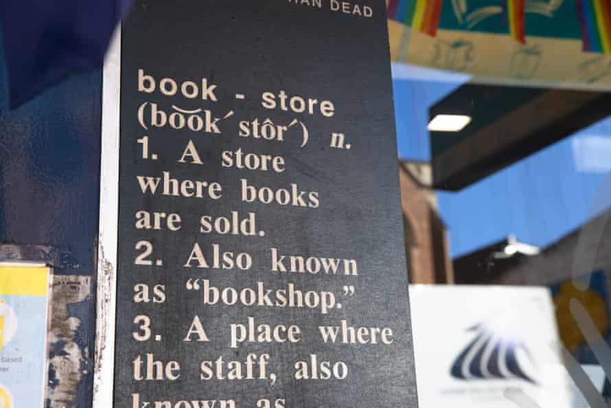 Better read than dead book store, King Street Newtown. Sydney Australia.