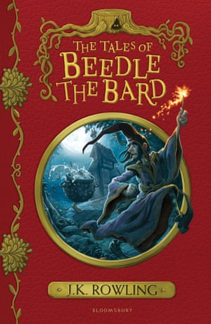 The Tales of Beedle the Bard cover