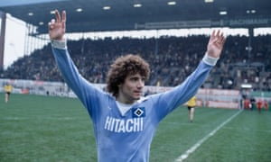 Kevin Keegan in 1978, during his three years with SV Hamburg. His name was given to thousands of German boys.