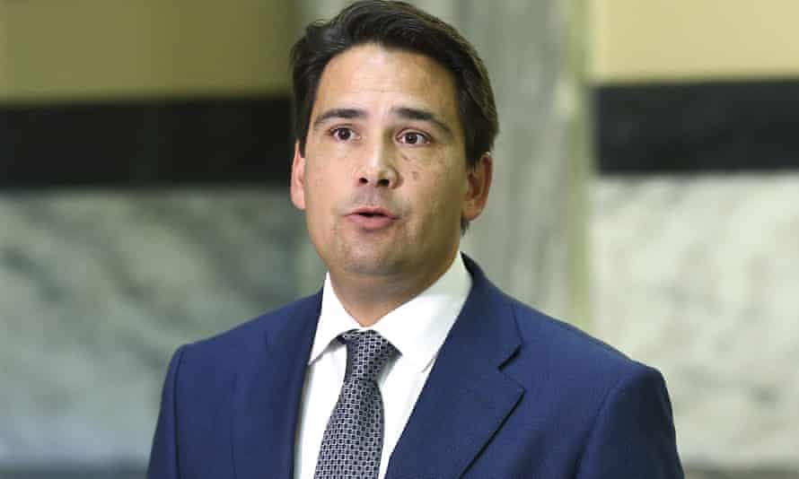 New Zealand National party leader Simon Bridges