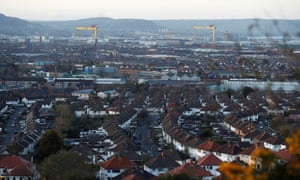 General birdseye view of Belfast