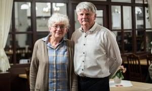 Bernadette and Alan Faulkner
