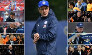 Some of Chelsea's recent managers.