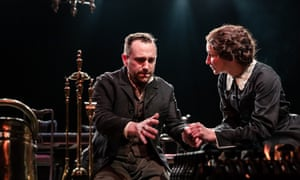 A landmark play … Brian Lonsdale, left, and Laura Elphinstone in Rutherford and Son.