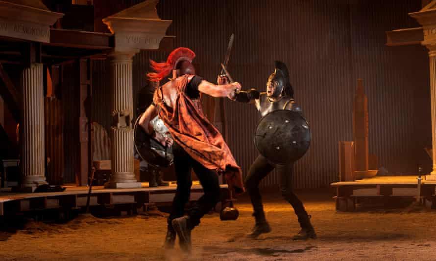 Chris Hannan's adaptation of the Iliad at the Lyceum theatre, Edinburgh.