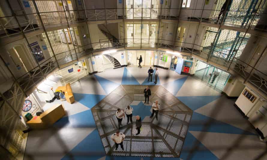 Wandsworth prison in London, where Chris Atkins began his jail sentence.