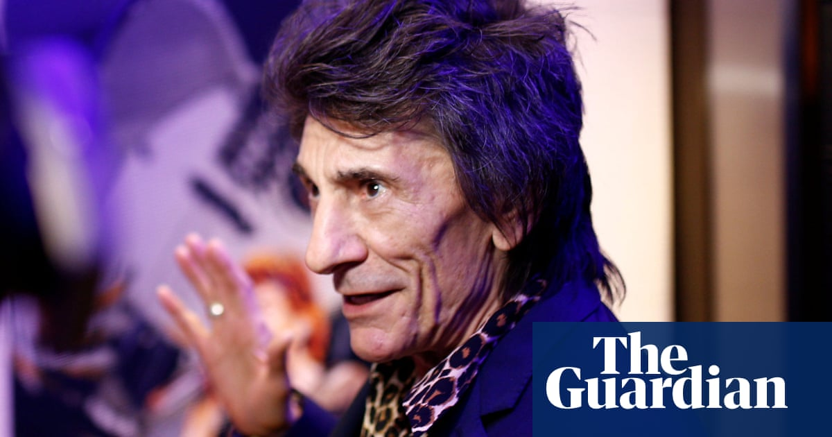 Ronnie Wood reveals all-clear after second cancer diagnosis