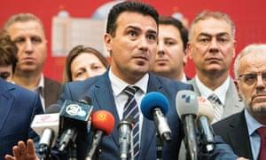 Macedonian Prime Minister Zoran Zaev