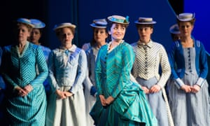 Soraya Mafi as Mabel (centre) in the Pirates of Penzance.