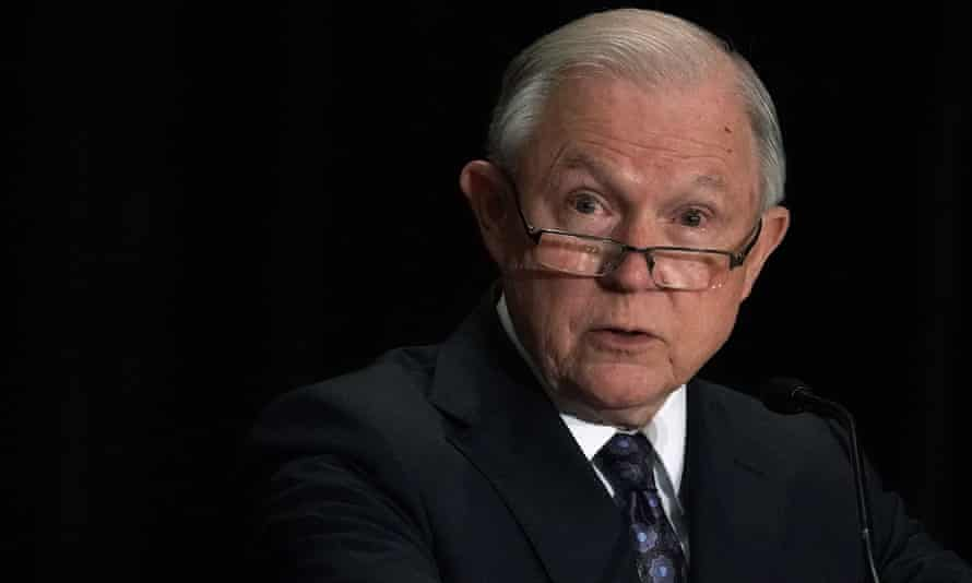 Jeff Sessions in Tysons, Virginia Monday.