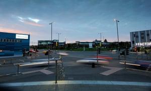 The regenerated Longbridge area of Birmingham