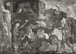 La Minotauromachie VII, 1935.