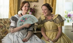 Cynthia Nixon, left, and Jennifer Ehle in A Quiet Passion.