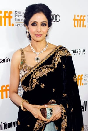 At the showing of English Vinglish during the Toronto international film festival, 2012.