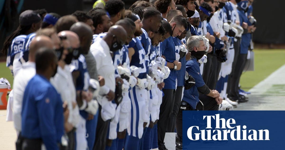 Colin Kaepernick attacks NFL propaganda as teams protest on opening weekend