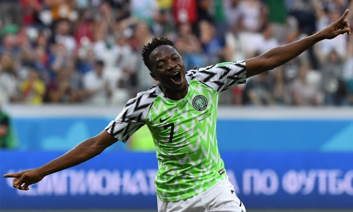 Nigeria 2-0 Iceland  World Cup 2018 – as it happened  8dc46d121