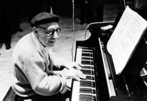Igor Stravinsky in the 1950s.