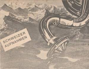 A detail from a catalogue of Swiss recordings.