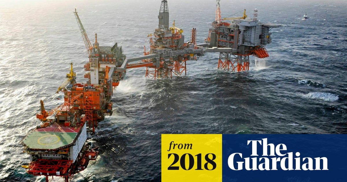 Robot heads for North Sea oil rigs in 'world first' scheme