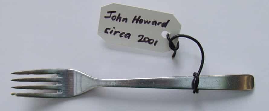 A fork used by the former Australian prime minister John Howard (circa 2001)
