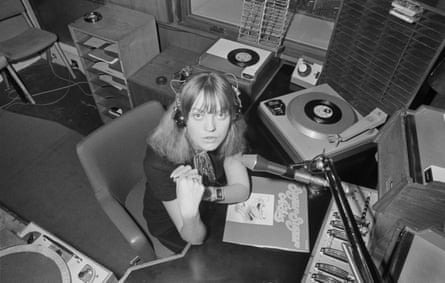 Annie Nightingale, Radio 1's first female DJ, 1970