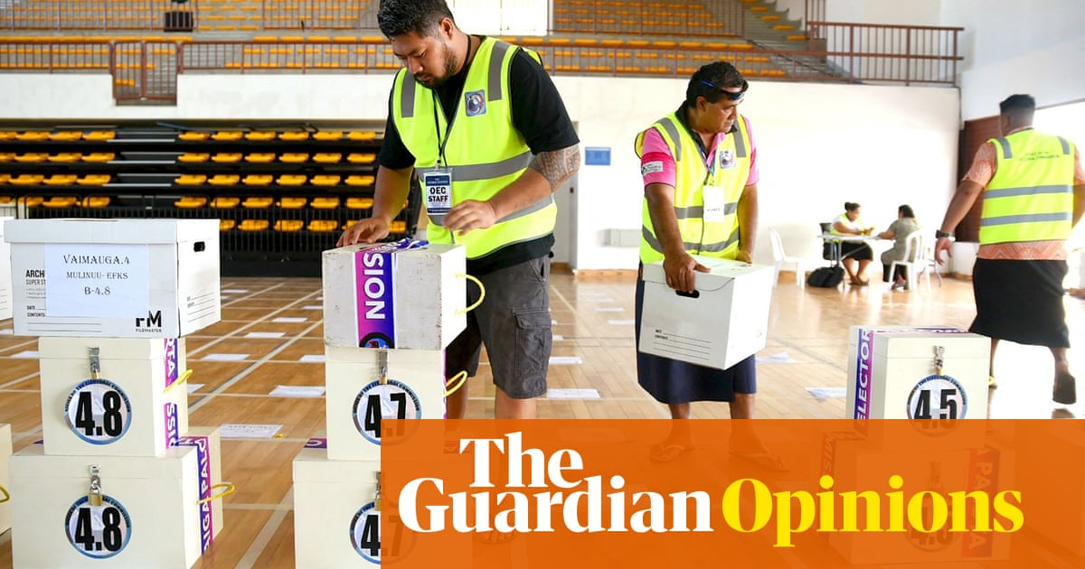Samoa is experiencing a bloodless coup. The Pacific's most stable democracy is in trouble