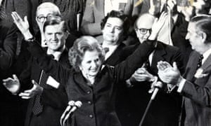 Edward du Cann with Margaret Thatcher