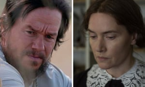 Mark Wahlberg in Good Joe Bell and Kate Winslet in Ammonite