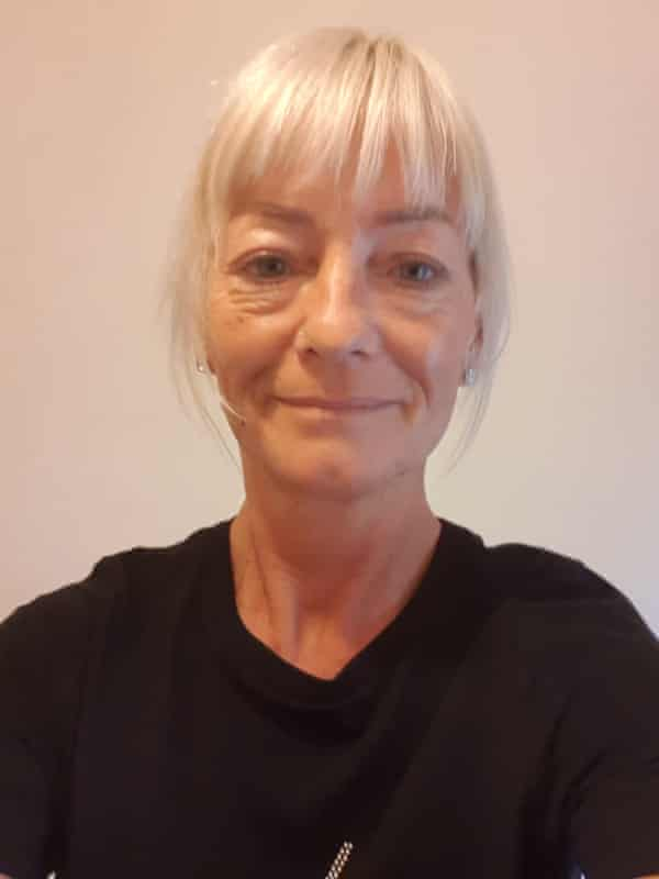 Carole Thompson, 52, a care worker in Lancashire.