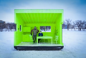 Hygge House Warming Hut, Winnipeg, Canada