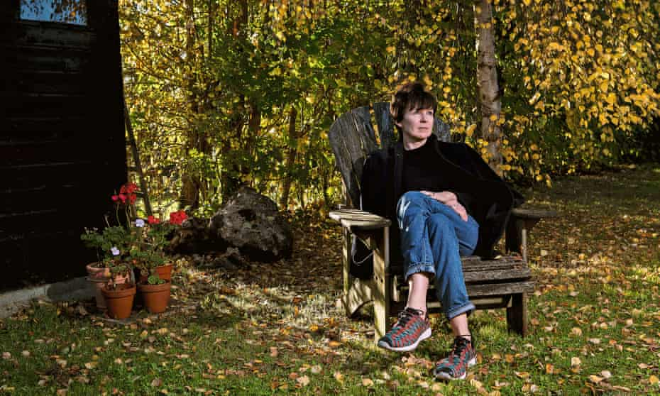 'I love the spell of self-forgetfulness that happens in a garden': Olivia Laing in her garden