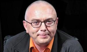 Russian TV host Pavel Lobkov.
