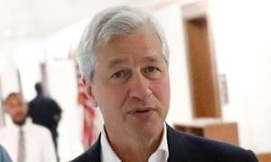 JP Morgan chairman and CEO Jamie Dimon.