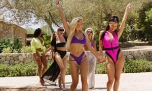 Women contestants on ITV's Love Island