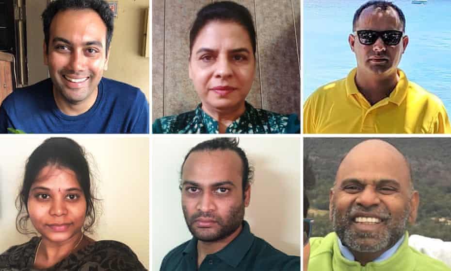 Subra Somayajula, Paramjit Khare, Vishal Dhanda, Shruthi Parepalli, Vamshi Parepalli, Ramana Akula
