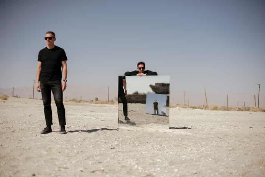 Jason Swinscoe and Dominic Smith of the Cinematic Orchestra