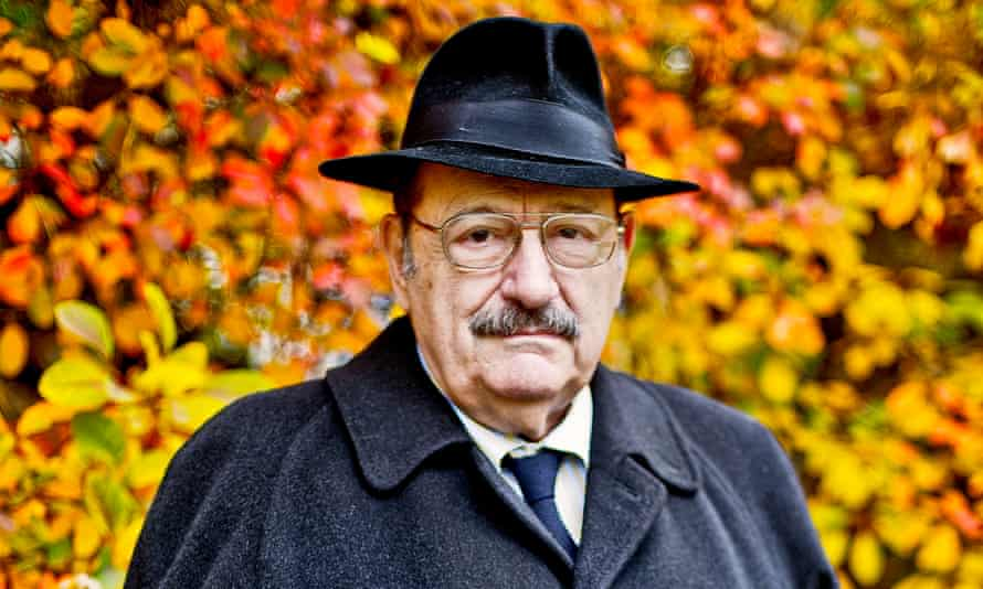 Umberto Eco, the Italian writer best known for his novel The Name of the Rose.