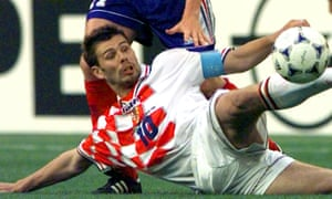 Croatia's Zvonimir Boban, who owns a Zagreb eaterie.