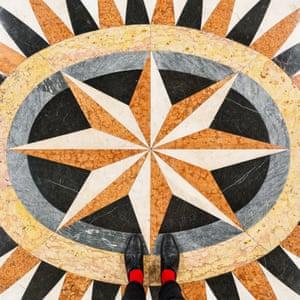 Scuola Grande San Giovanni Evangelista Venetian floor photographed by Sebastian Erras