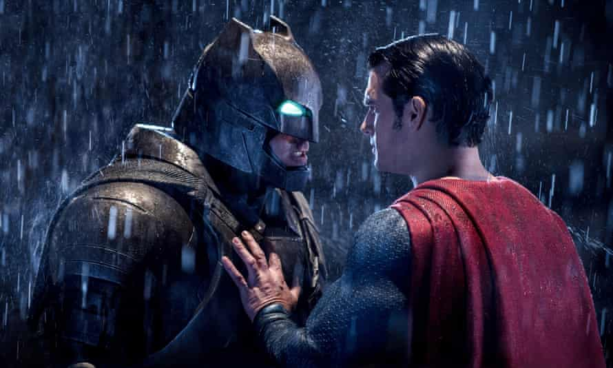 'Calm down Bruce, it's only a review' … Batman v Superman: Dawn of Justice.