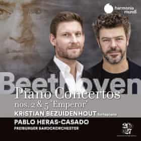 Bezuidenhout/Heras-Casado/Freiburger Barockorchester: Beethoven Piano Concertos 2 and 5 album art work