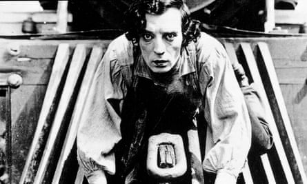 Buster Keaton in a still from the 1927 film The General.