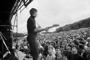 Blue Aeroplanes, Ashton Court festival, 1987