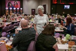 Brenda Barge at the Mecca Bingo