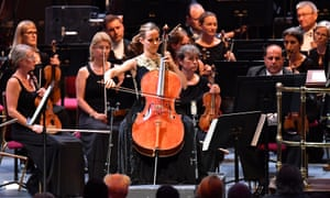 Sol Gabetta plays the Cello Concerto by Mieczysław Weinberg at Prom 25.