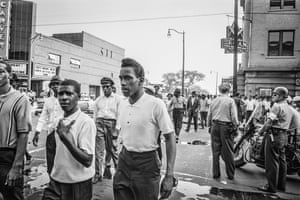 Tension on the streets of Birmingham, Alabama