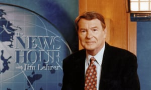 Jim Lehrer, host of the nightly PBS show NewsHour, died Thursday at his home.